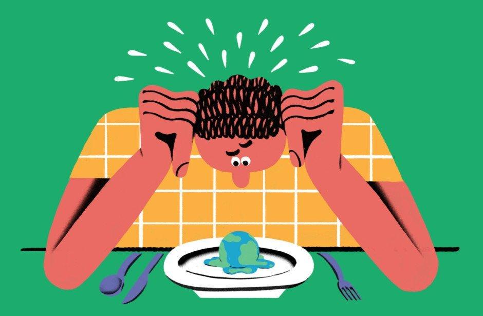 Dieta planetarna — kompromis wypracowany przez międzynarodowy zespół ekspertów, jako wzorcowy model odżywiania dla świata. (nytimes.com)