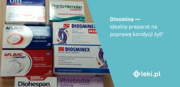 Diosmina — idealny preparat na poprawę kondycji żył?