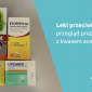 Kwas acetylosalicylowy: przegląd leków przeciwbólowych
