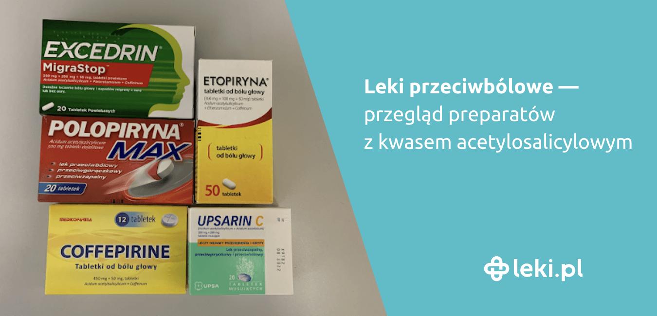 Kwas acetylosalicylowy, znany jako aspiryna, jest lekiem o działaniu przeciwzapalnym, przeciwbólowym, przeciwgorączkowym.