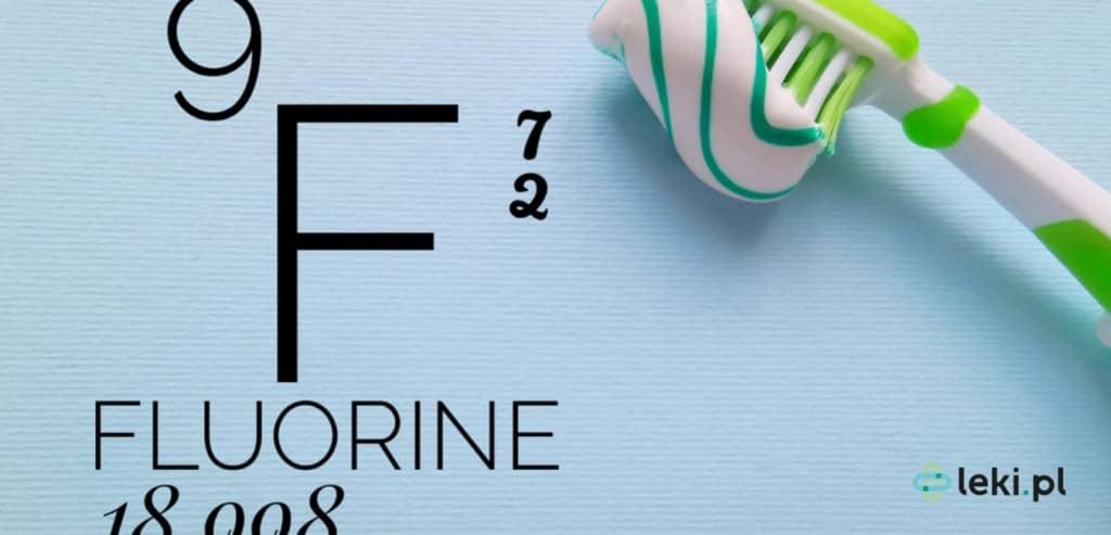 Fluor w pastach do zębów