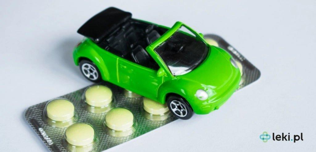 Wpływ leków na prowadzenie pojazdów